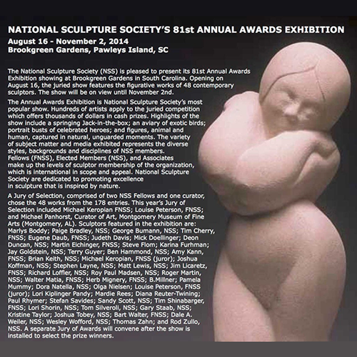 The National Sculpture Society's 81st Annual Exhibition